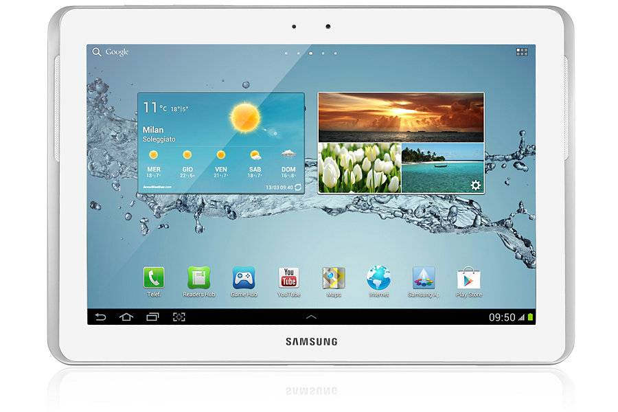 Samsung Tablet Samsung Galaxy Tab 2 Gt P5100 10.1