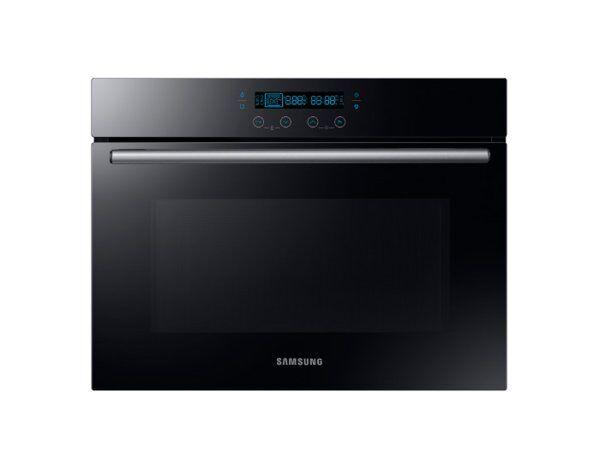 Samsung Forno Samsung Nq50k5137kb Ad Incasso 60 Cm 50 L Microonde 900 W Pulizia A Vapore 7 Livelli Di Potenza Refurbished Nero