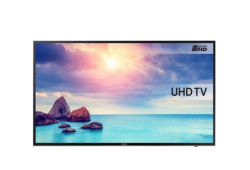 Samsung Tv 43'' Samsung Ue43ku6000 Led Serie 6 4k Ultra Hd Smart Wifi 1300 Pqi Usb Hdmi Refurbished Senza Base Con Staffa A Muro