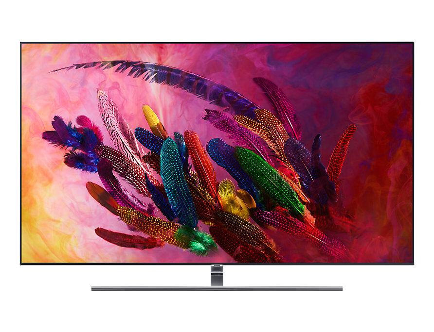 Samsung Tv 75'' Samsung Qe75q7fnat Qled Serie 7 Q7fn 2018 4k Ultra Hd Smart Wifi 3200 Pqi Hdmi Usb Refurbished Silver