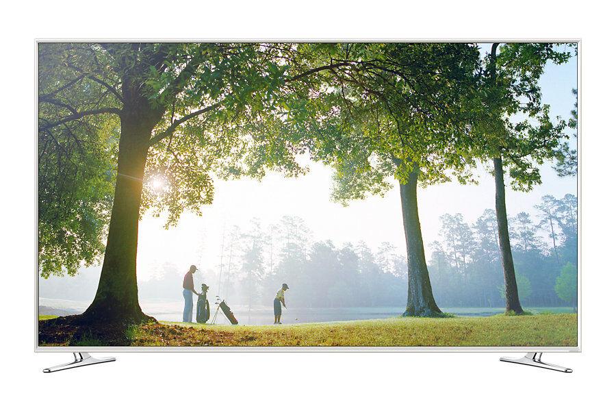 Samsung Tv 55'' Samsung Ue55h6410 Led Serie 6 Full Hd 3d Smart Wifi 400 Hz Bianco Hdmi Usb Scart Dvb-T2/c/s2 Refurbished Classe A+