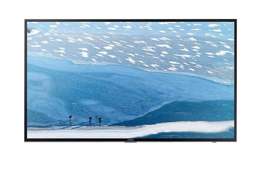Samsung Tv 60'' Samsung Ue60ku6000 Led Serie 6 4k Ultra Hd Smart Wifi 1300 Pqi Hdmi Usb Refurbished Senza Base Con Staffa A Muro
