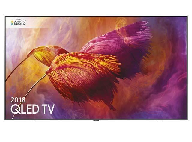 Samsung Tv 75'' Samsung Qe75q8dnat Qled Serie 8 Q8d 2018 4k Ultra Hd Smart Wifi 3600 Pqi Hdmi Usb Silver
