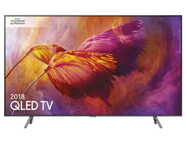 Samsung Tv 65'' Samsung Qe65q8dnat Qled Serie 8 Q8d 2018 4k Ultra Hd Smart Wifi 3600 Pqi Hdmi Usb Silver