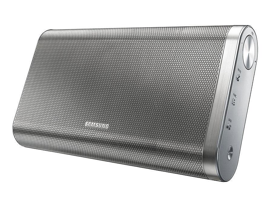 Samsung Speaker Wireless / Cassa Portatile / Power Bank Samsung Da F61 20 W 2 Canali Bluetooth Nfc Per Tv Smartphone Tablet Refurbished Silver