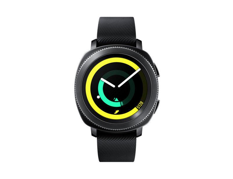 samsung smartwatch samsung galaxy gear sport sm r600 1.2 super amoled 4 gb 1 ghz dual core bluetooth refurbished nero