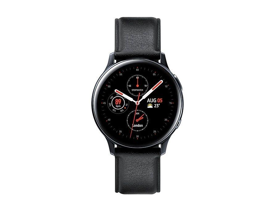samsung smartwatch samsung galaxy watch active2 40 mm stainless steel sm r830 1.2 super amoled 4 gb dual core wifi bluetooth refurbished nero