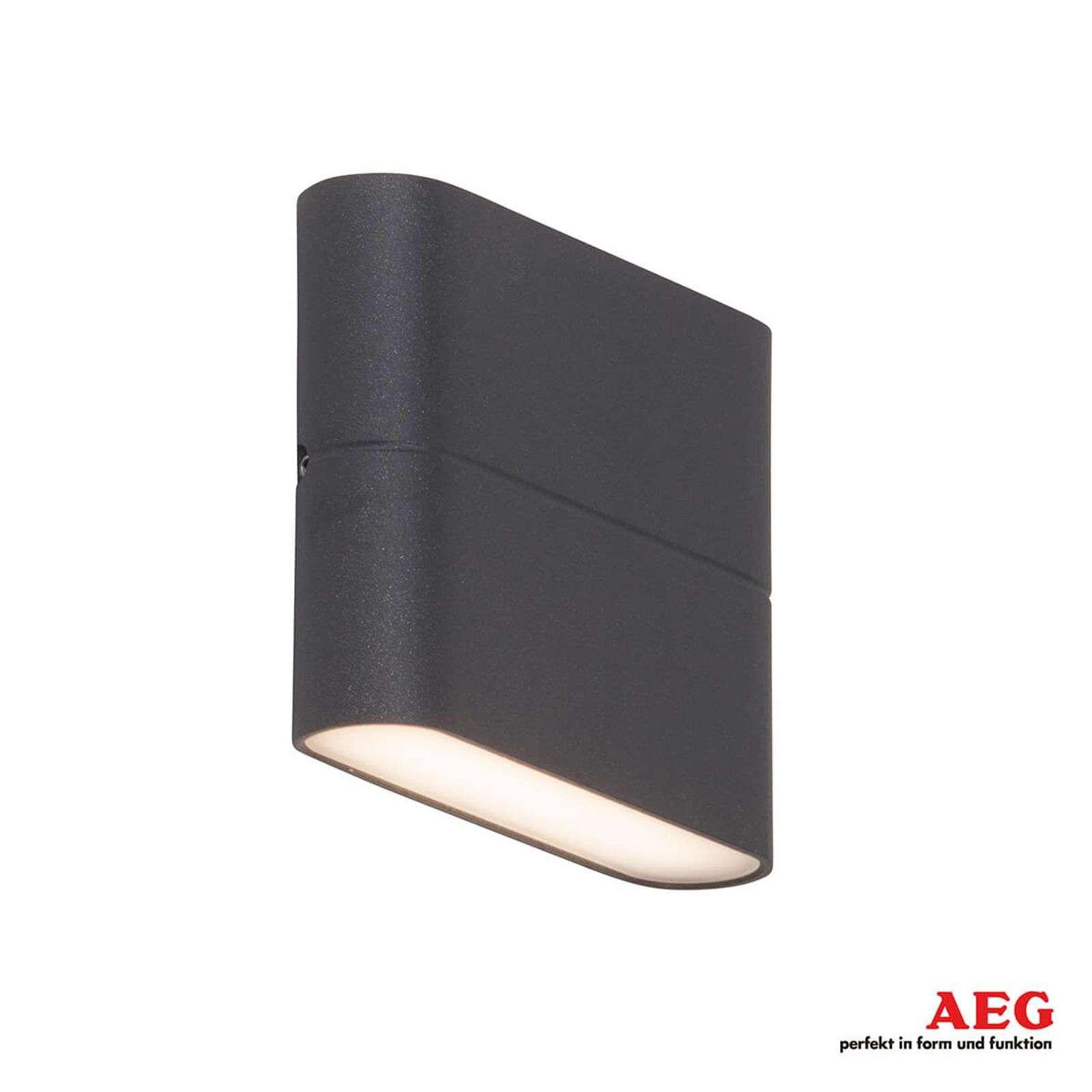 AEG Luce a parete LED per esterni Telesto 11,5cm