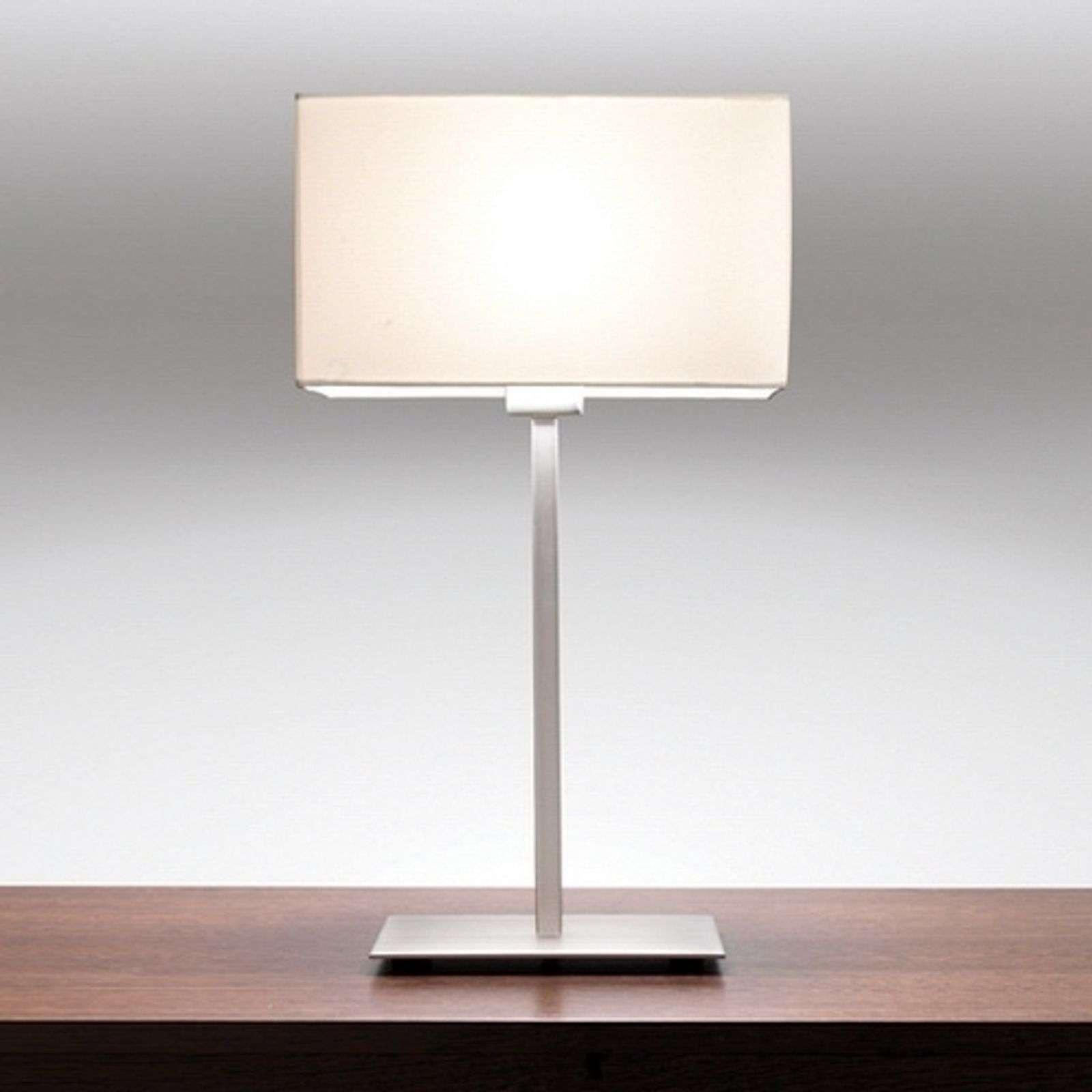 Astro Raffinata lampada da tavolo PARK LANE, bianco/sat.