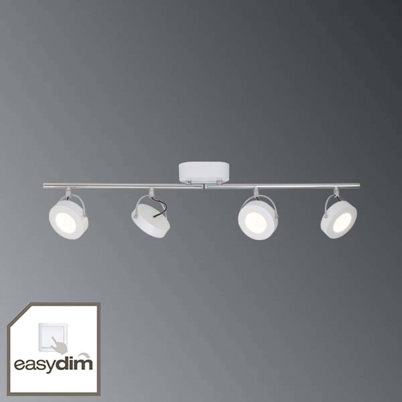 AEG Faretto da soffitto LED Allora EasyDim a 4 luci