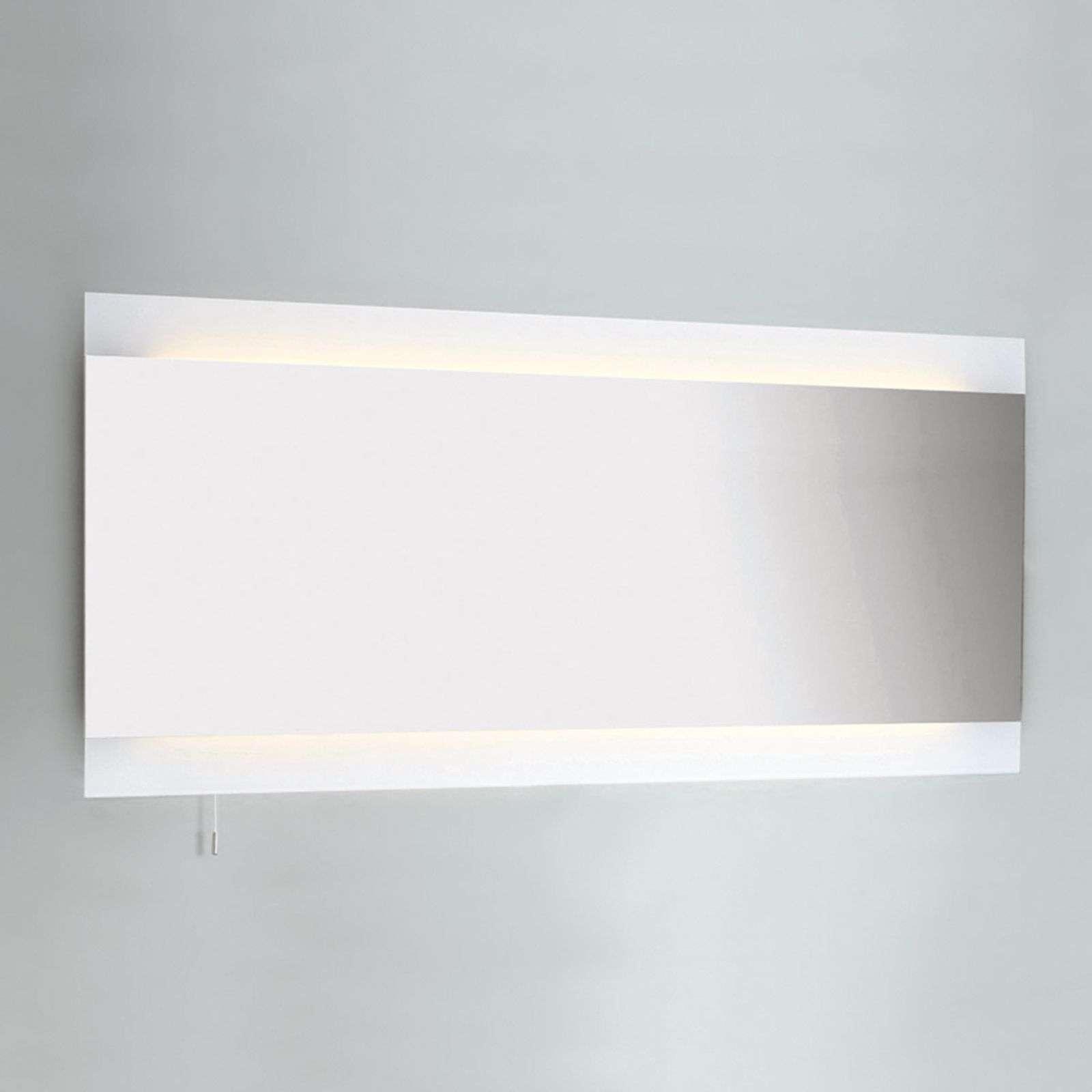 Astro Specchio FUJI WIDE con illuminazione, largo 125 cm
