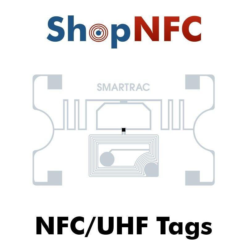 Tag Dual Frequency NFC/UHF adesivi