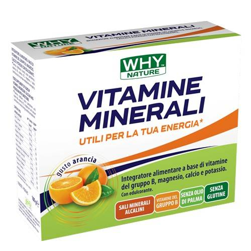 whynature why nature vitamine minerali 10 buste (sc.05/2020)