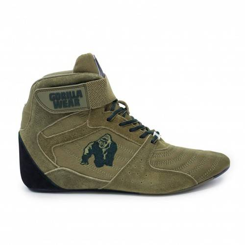 gorilla perry high tops army green