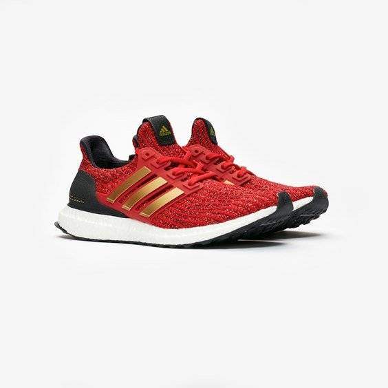 adidas ultraboost w x game of thrones for women in red - size 38 ⅔