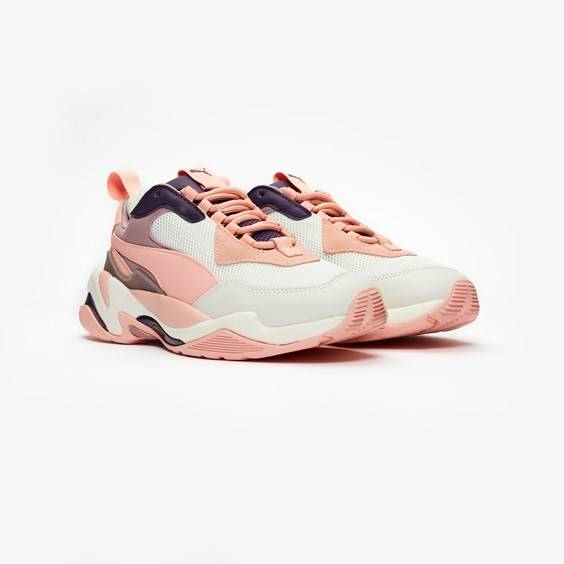 puma thunder spectra in white - size 41