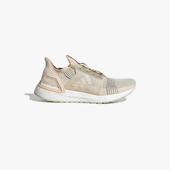 adidas ultraboost 19 x wood wood in brown - size 38 ⅔