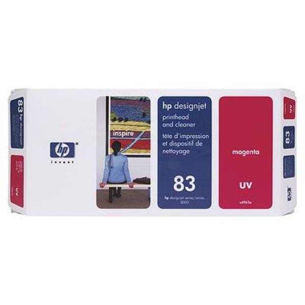 HP Originale  DesignJet 5500 PS UV Cartuccia stampante (83 / C 4962 A) magenta, Contenuto: 13 ml