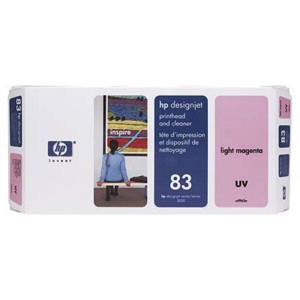 HP Originale  DesignJet 5500 PS UV Cartuccia stampante (83 / C 4965 A) multicolor, Contenuto: 13 ml
