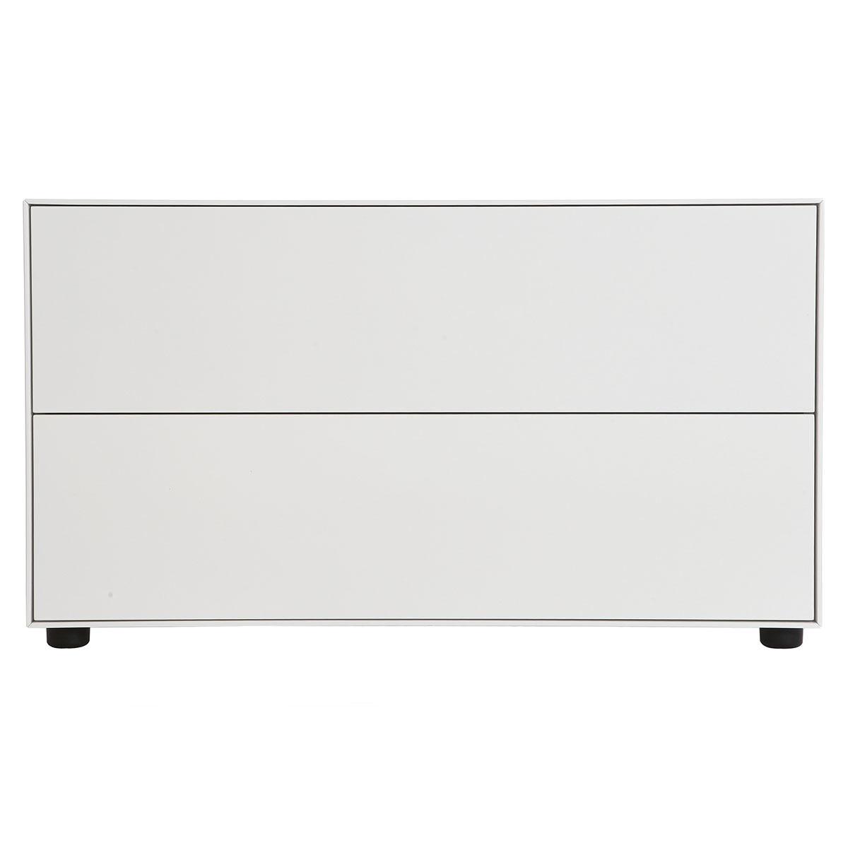 Miliboo Mobile TV design 90x40cm 2 cassetti MARK-