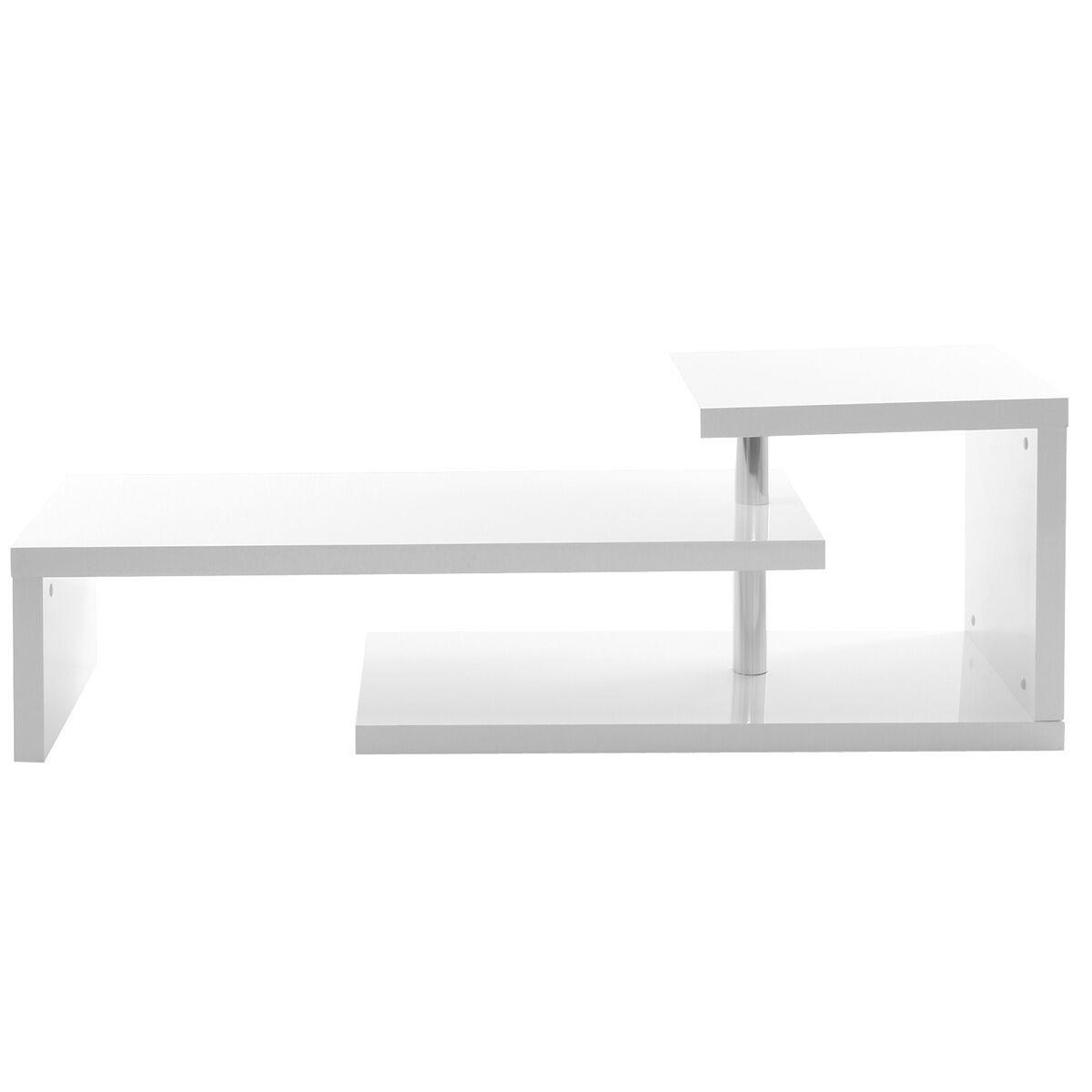 Miliboo Mobile TV design laccato bianco TURN-