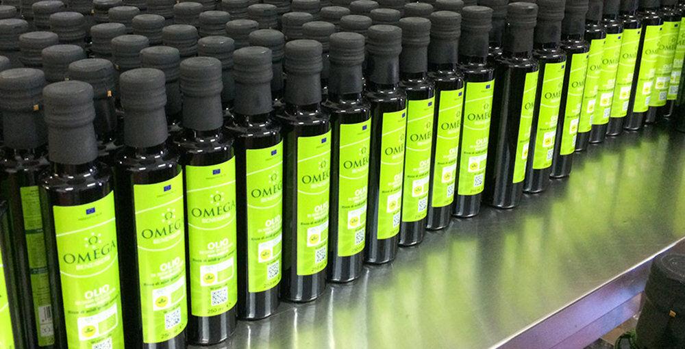 Omega 1 bottiglia - olio di Semi di Canapa BIO 0,25 lt