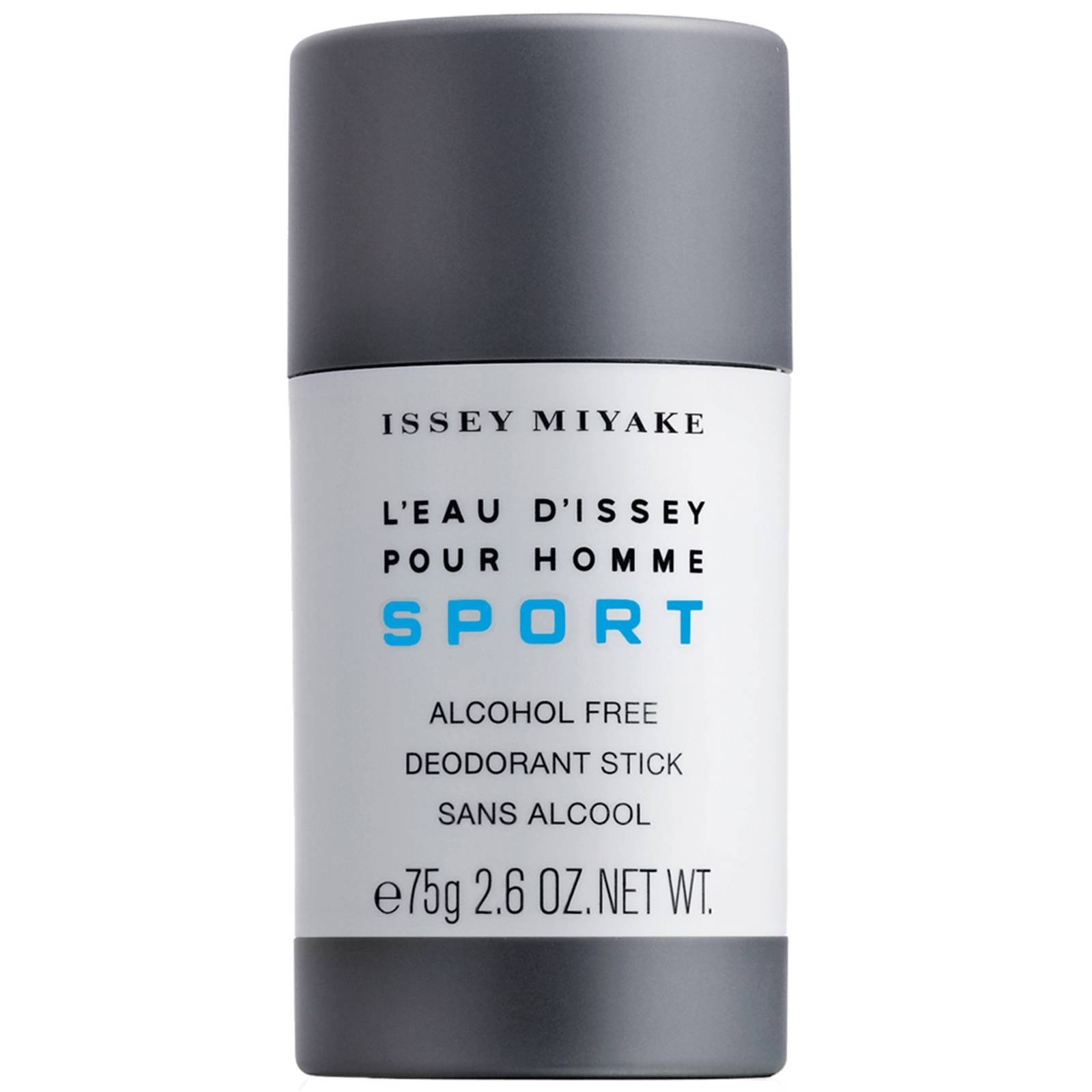 issey miyake l'eau d'issey pour homme sport deodorante stick (senza alcool) 75g