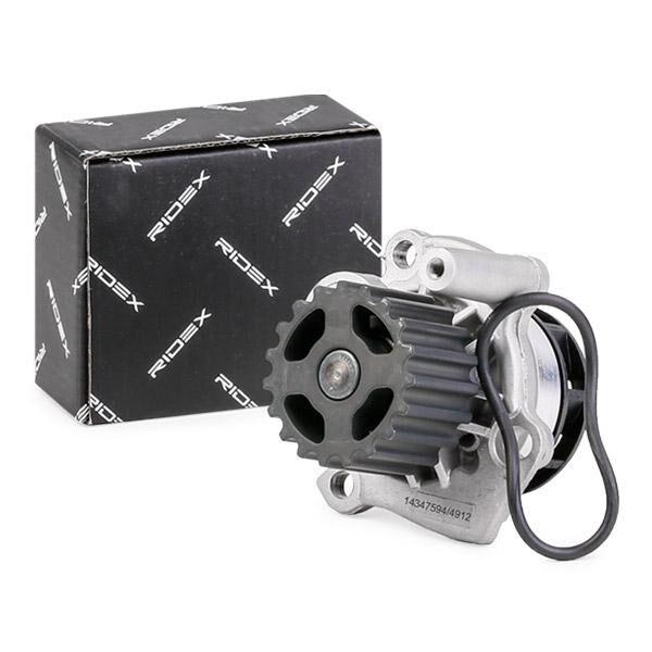 RIDEX Pompa Acqua VW,AUDI,FORD 1260W0334 038121011C,038121011CX,038121011D  038121011DX,038121011G,038121011GX,038121011H,038121011HX,038121011J