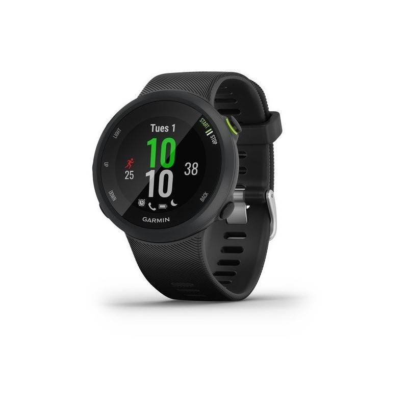 garmin forerunner 45 orologio smart gps unisex nero black misura l ( 42 mm)