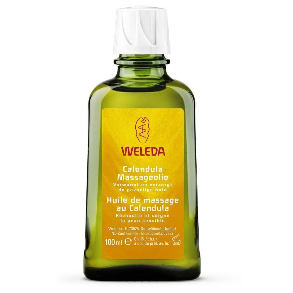 weleda olio per massaggi alla calendula 100 4001638099295