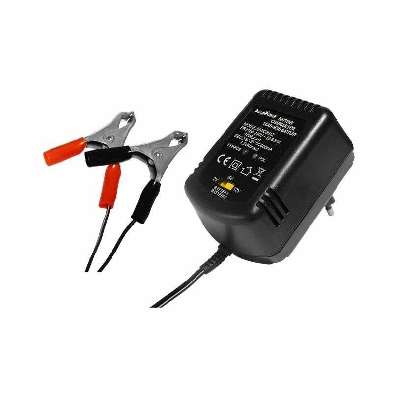 AP2612C- Carica Batterie Auto / Moto / Veicoli Alcapower - 7W / 12V  / 0,6A