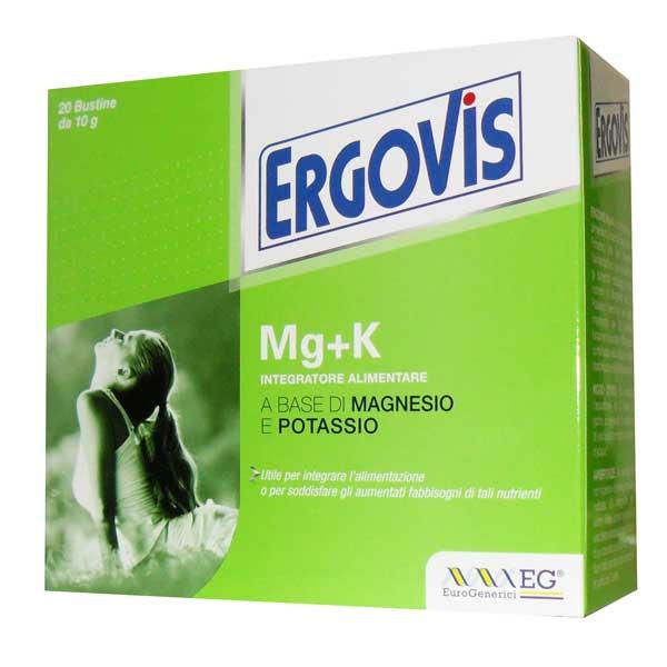 Eg Spa Ergovis Mg+k 20bust 10g