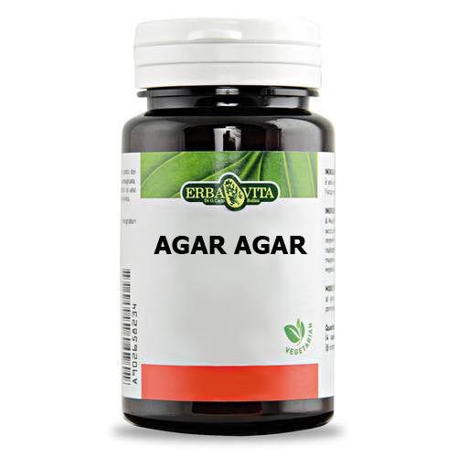 Erba Vita Group Spa Agar Agar 60 Capsule 500 mg Erbavita