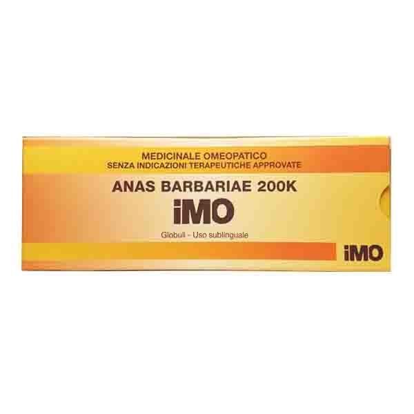 I.M.O.Ist.Med.Omeopatica Spa Anas Barbariae 200k Gl