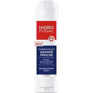 hidrofugal cura del corpo anti-transpirant freschezza per uomo spray antitraspirante 150 ml