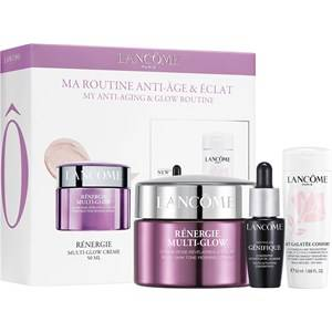 lancôme cura del viso anti-aging set regalo rénergie multi-glow crème 50 ml + advanced génifique concentré 7 ml + lait galateé confort 50 ml 1 stk.