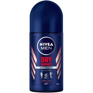 nivea cura dell'uomo deodorant men dry impact roll-on antitraspirante 50 ml