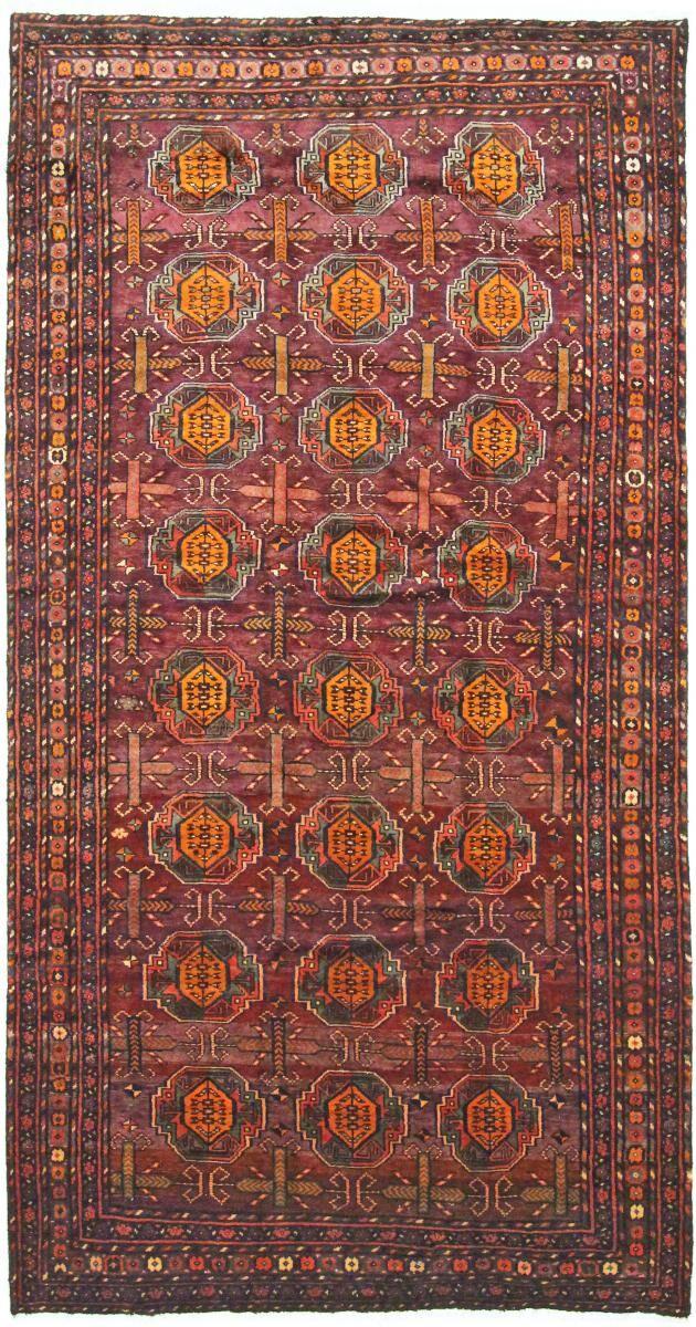 nain trading tappeto orientale lori 333x174 marrone scuro/rosso (persia/iran, lana, annodato a mano)