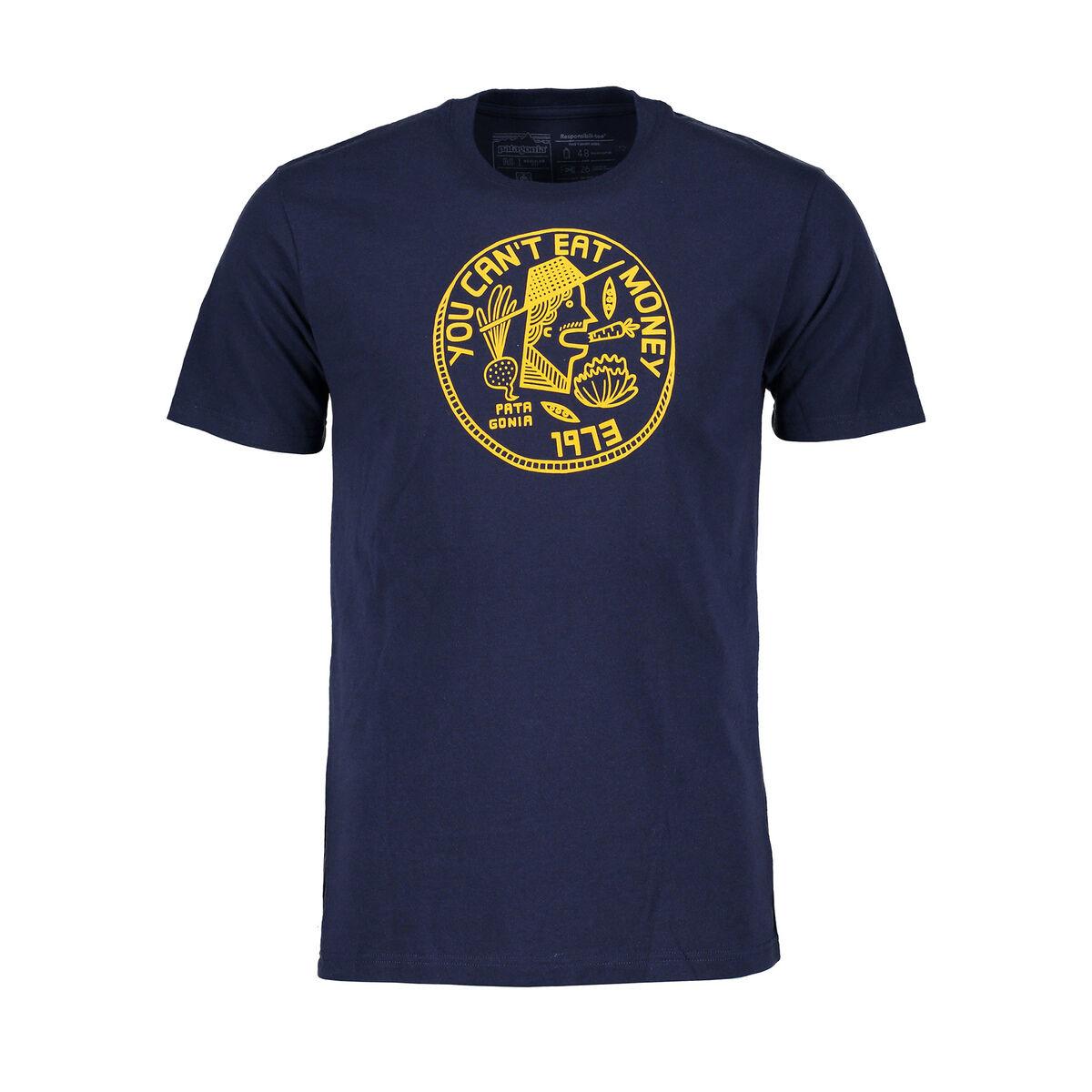 Patagonia T-shirt can't eat money responsibili-tee®
