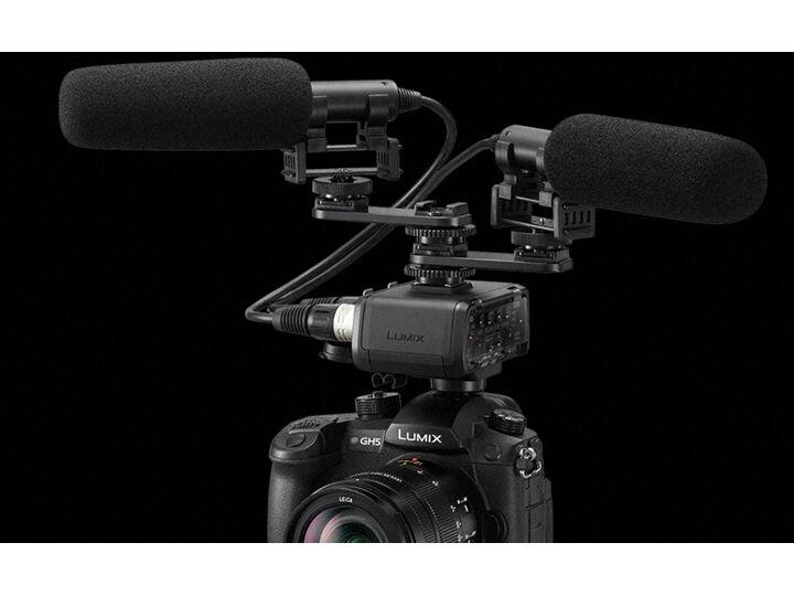 panasonic xlr1 adattatore microfoni gh5 garanzia fowa 4