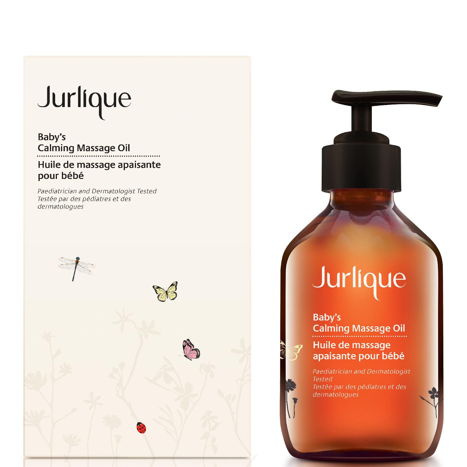 jurlique olio da massaggio rilassante bimbi 100 ml