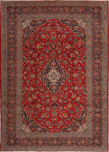 annodato a mano. provenienza: persia / iran tappeto keshan  263x370 tappeto orientale