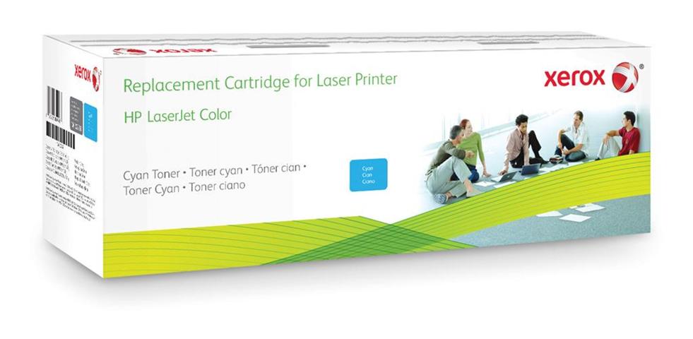 Xerox Cartuccia toner ciano. Equivalente a HP CB385A. Compatibile con HP Colour LaserJet CM6030 MFP, Colour LaserJet CP6015