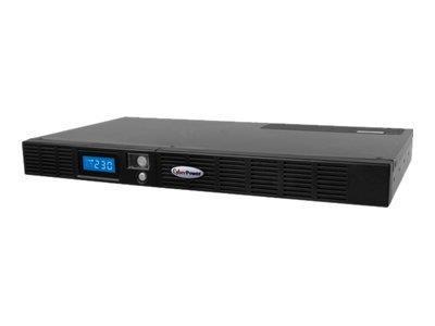 CyberPower OR600ELCDRM1U 600VA 6presa(e) AC Montaggio a rack Nero gruppo di continuità (UPS)