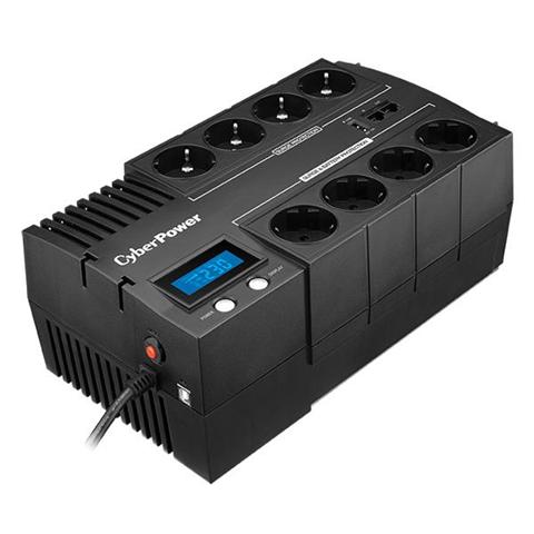 CyberPower BR1200ELCD uninterruptible power supply (UPS) - uninterruptible power supplies (UPSs) (Line-Interactive, Sealed Lead Acid (VRLA), PowerPanel Personal Edition, 0 - 40 �C, 45/65, -20 - 50 �C)