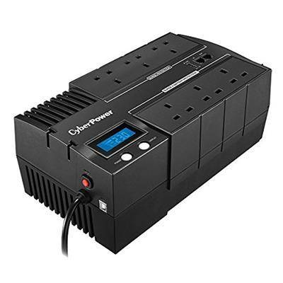 CyberPower BRICs LCD 1000VA 6AC outlet(s) Compact Black uninterruptible power supply (UPS) - uninterruptible power supplies (UPSs) (1000 VA, 600 W, 165 V, 290 V, 220 V, 240 V)