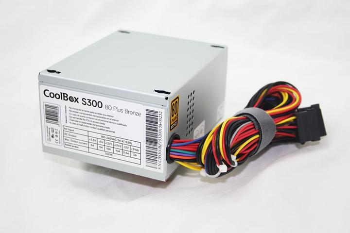 CoolBox S300 alimentatore per computer 300 W SFX Argento