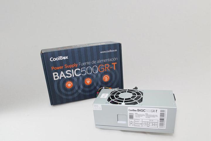 CoolBox BASIC500GR-T alimentatore per computer 500 W 20+4 pin ATX TFX Grigio