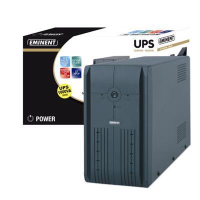 Eminent UPS 1000VA 1000VA Grigio gruppo di continuit (UPS)