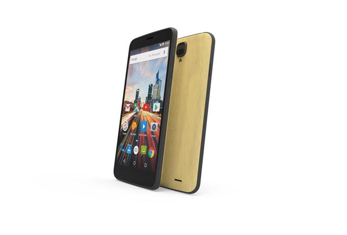 Archos Smartphone Archos Helium 4G 55 4seasons 4G 16Gb Nero, Oro, Grigio, Legno, Giallo